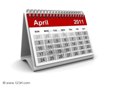 2011 april calendars. April 2011 Calendar - Click to