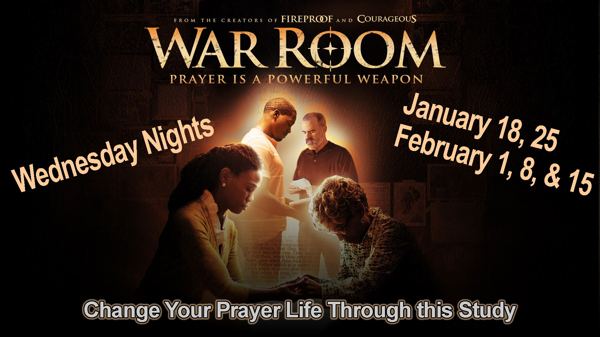 war room bible study