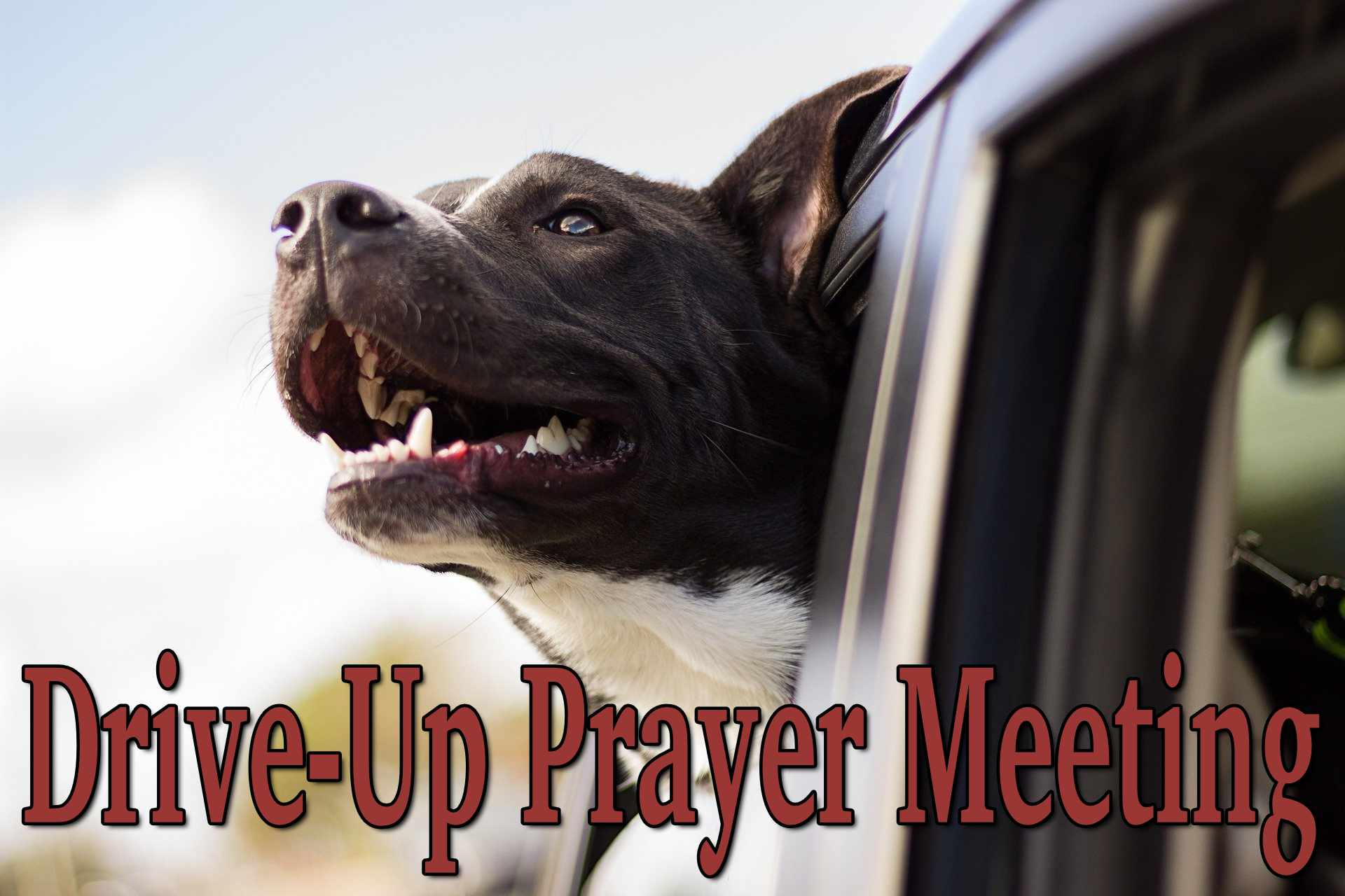 drive-up prayer meeting